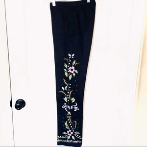 Forwear NY Embroidered Pants Sz4